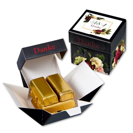 Würfel mit 6 Goldbarren